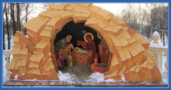 Рождественский вертеп, картины