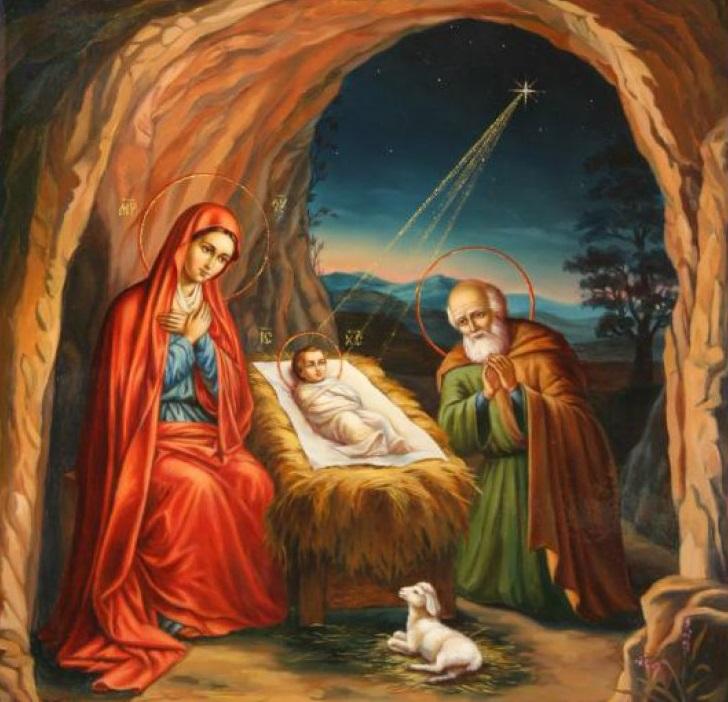 Рождество Христово. Иосиф Обручник