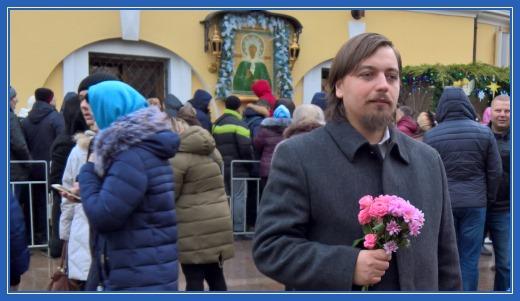 Священник Димитрий Синявин в Покровском монастыре