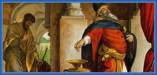 Фарисей и мытарь, притча, гордость и смирение