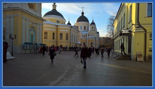 Покровский монастырь - 5 февраля 2017