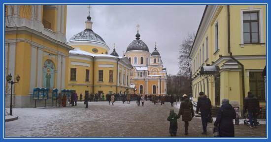 Покровский монастырь, февраль