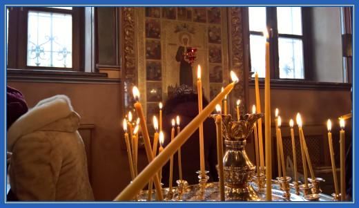Свеча пред чудотворной иконой за всех наших жертвователей