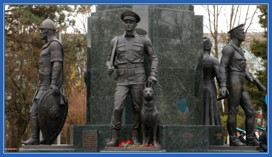 Защитники Отечества, памятник