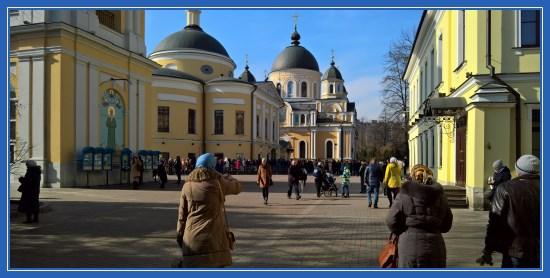 Покровский монастырь 12 марта 2017