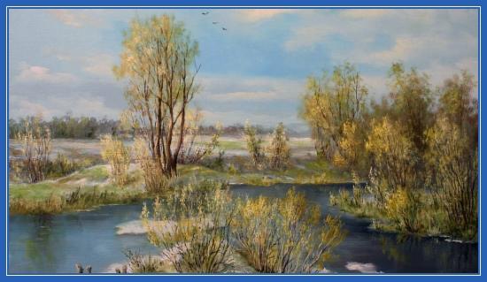 Ранняя весна. Картины художников