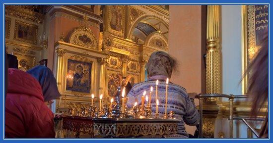 Воскресенский собор. Литургия