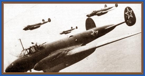 Советские самолеты, Война