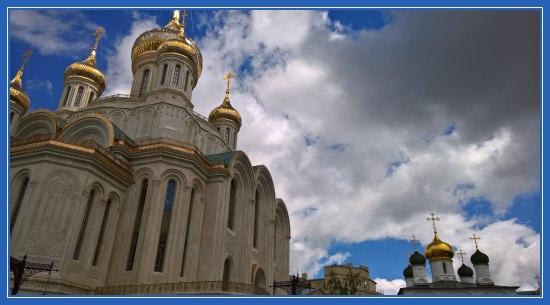 Сретенский монастырь. Новый Воскресенский собор