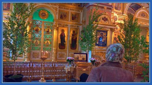 Березки в Воскресенском соборе