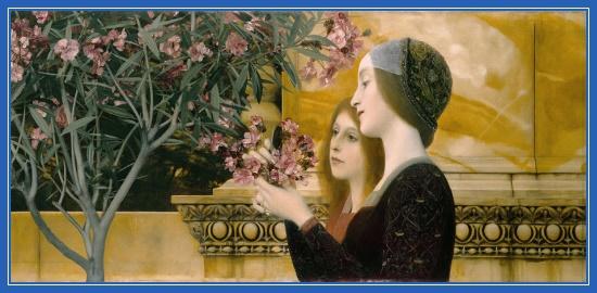 Две подруги, девушки, цветы