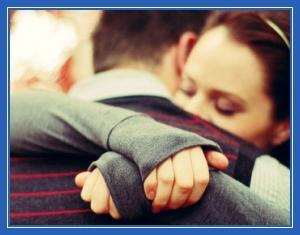 Любовь, обнимание