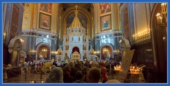 Мощи святителя Николая Чудотворца, Храм Христа Спасителя