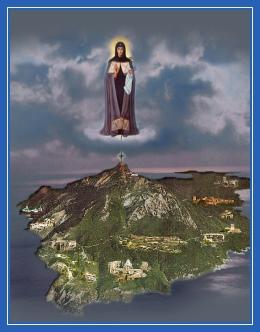 Пресвятая Богородица, Игумения Святой горы Афон