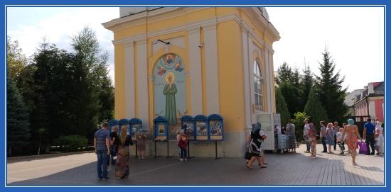 Покровский монастырь. Святая Матрона Московская