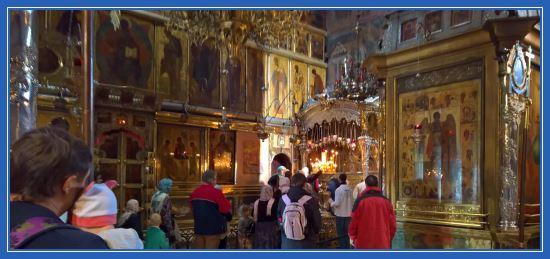 Троицкий собор. Мощи преподобного Сергия