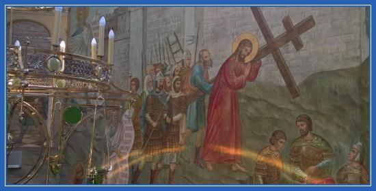 Несение креста. Шествие Иисуса Христа на Голгофу