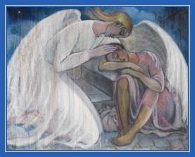 Ангел Хранитель укрывает крылом