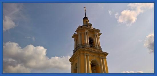Колоколня Покровского монастыря
