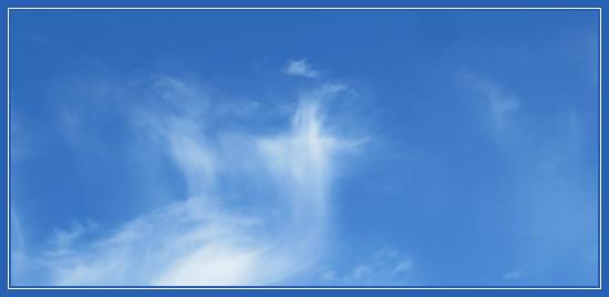 Крест на небе
