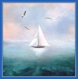 Парус, корабль, море