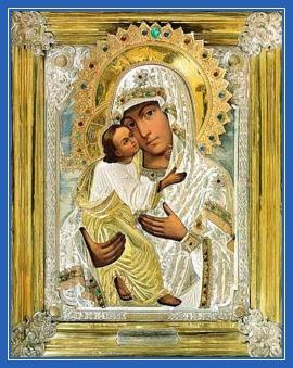 Печерская икона Божией Матери - Умиление