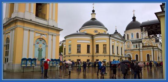 Покровский монастырь 15 октября 2017