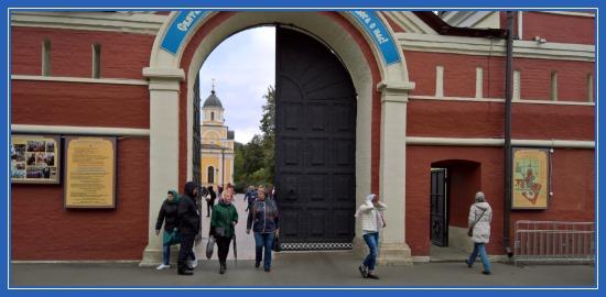 Покровский монастырь, святая Матрона. 1 октября 2017