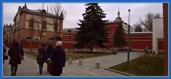 День рождения святой Матроны, Покровский монастырь 22 ноября 2017