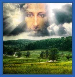 Господь Бог в небесах, Христос, небо