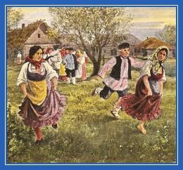 Игра детская, дети, на Руси