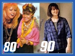 Мода 80-х 90-х