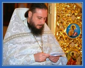 Молитва в храме, поминовение