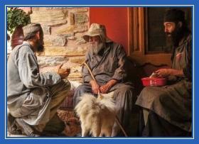 Общение, монахи, обсуждение