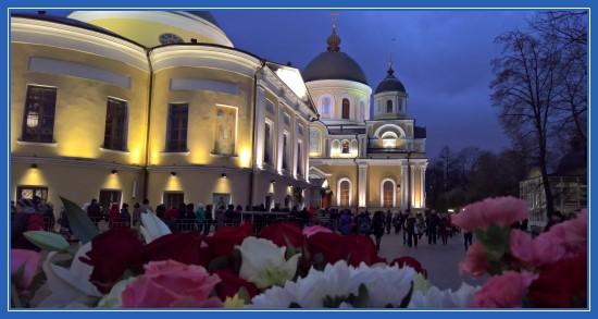 Покровский монастырь 22 ноября 2017, День рождения святой Матроны