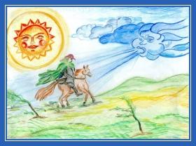 Ветер и солнце, спор
