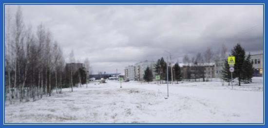 Имбинский, зима