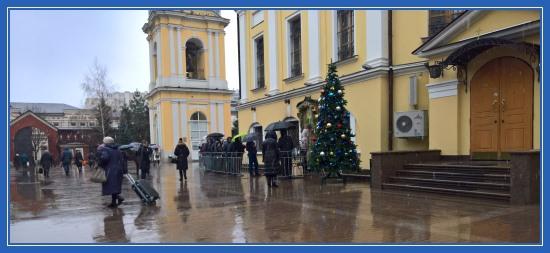 Покровский монастырь, Новый год, блаженная Матрона
