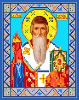 Святитель Спиридон Тримифунтский, образ