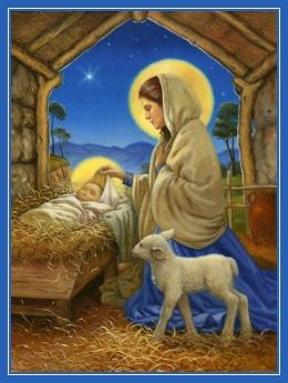 Богомладенец, Дева Мария, Рождество Христово