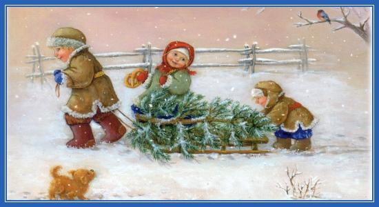 Елка к Рождеству Христову
