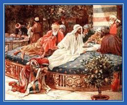 Христос, грешница, омывает ноги блудница