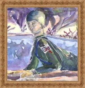Картина Сын, Притча Аукцион, солдат