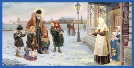 Праведный Иоанн Кронштадтский и дети