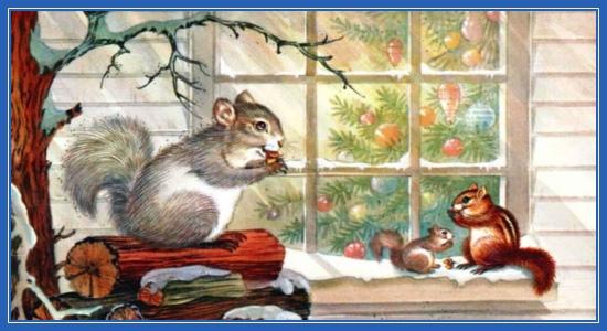 Рождественские белочки!