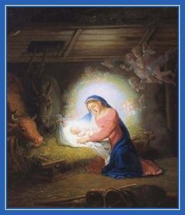 Рождество Христово, Богомладенец