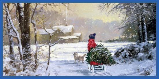 Святочный рассказ, елка, мальчик, Сочельник