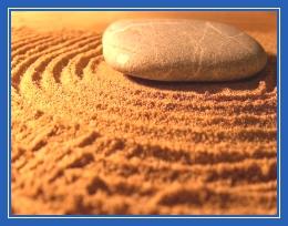Камень и песок