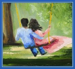 Любовь и счастье, муж и жена
