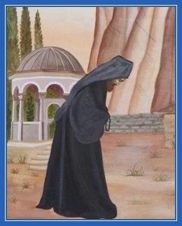 Поясной поклон, монах, прощение